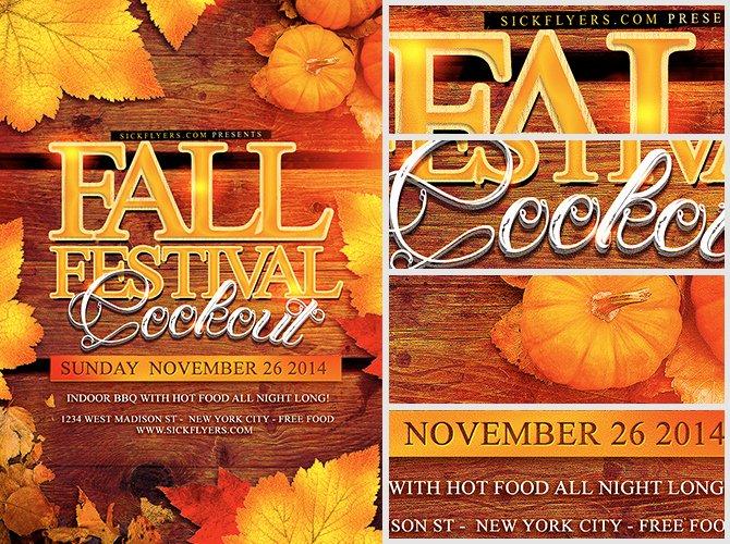 Fall Festival Flyer Template Elegant Fall Festival Flyer Template Flyerheroes
