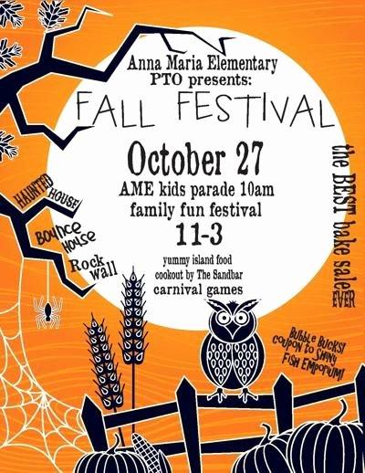 Fall Festival Flyer Template Lovely Family Fall Festival Flyer Fall