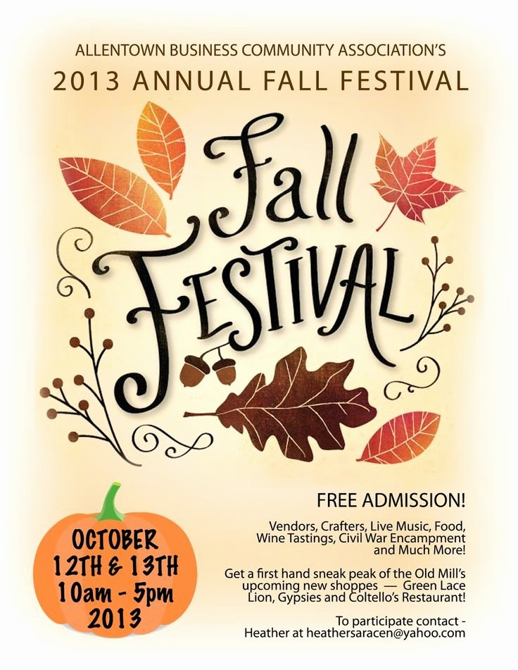 Fall Festival Flyers Template Beautiful Pin by Stephanie Vann On Pto Pinterest