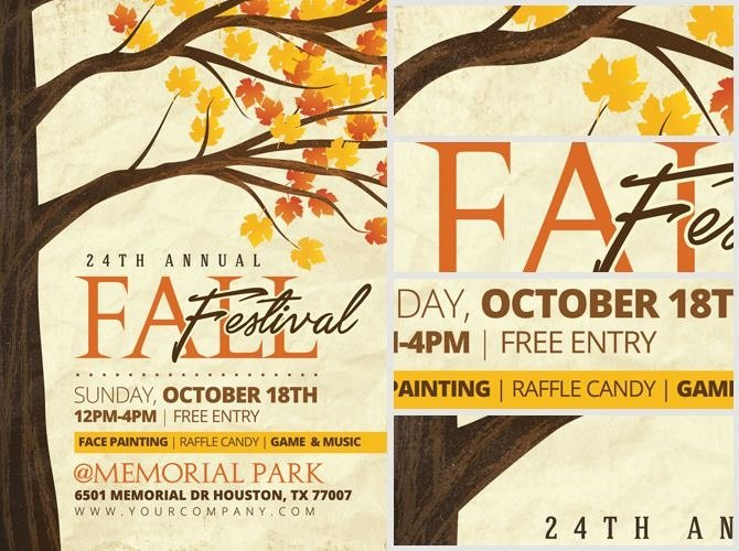 Fall Festival Flyers Template Elegant Fall Festival Flyer Templates Free Ktunesound