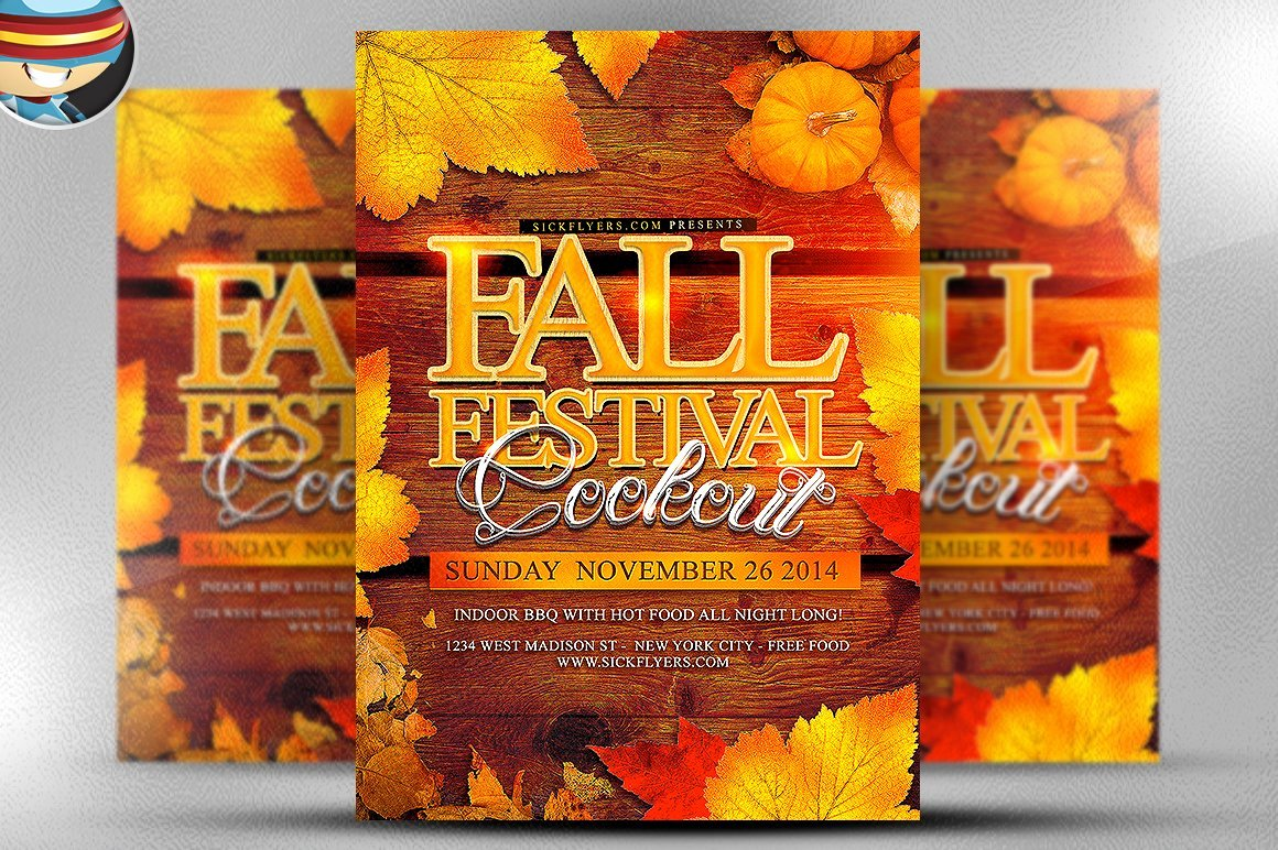 Fall Festival Flyers Template Luxury Fall Festival Flyer Template Flyer Templates Creative