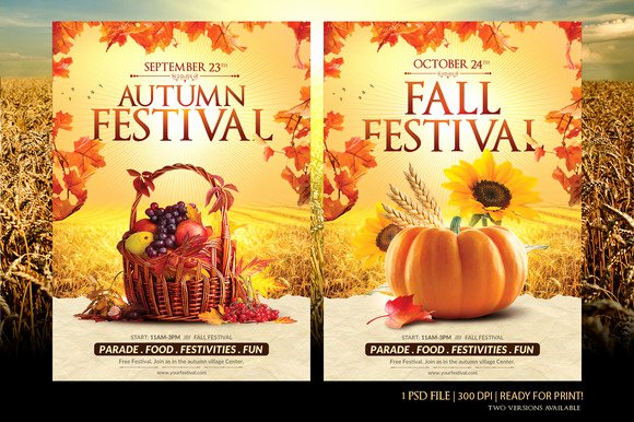 Fall Festival Flyers Template Luxury Fall Festival Flyer Template Flyer Templates On Creative