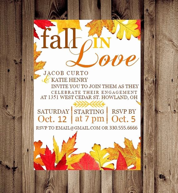 Fall Party Invitation Template Best Of 6 Best Of Fall Printable Party Invitations Fall