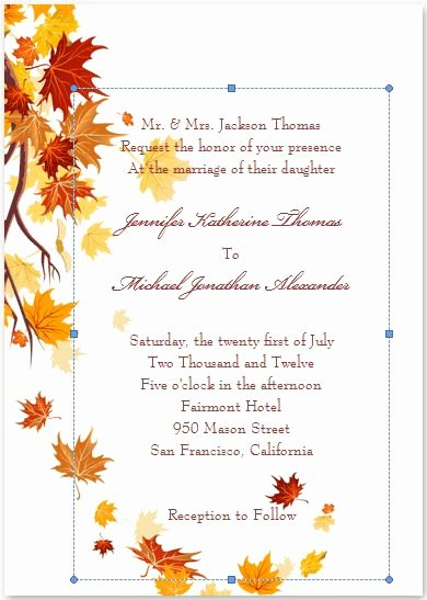 Fall Party Invitation Template Elegant 25 Best Ideas About Fall Wedding Invitations On Pinterest