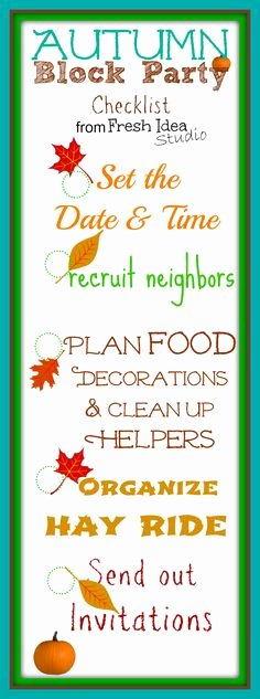 Fall Party Invitation Template Lovely 1000 Images About Neighborhood Fall Festival On Pinterest