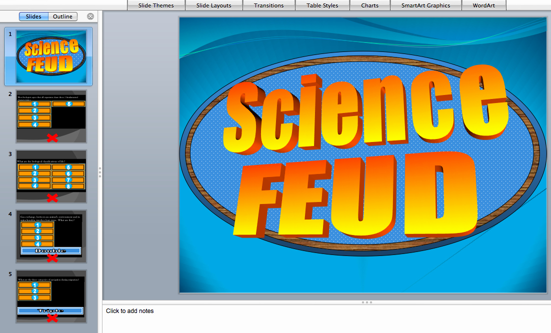 Family Feud Game Template Awesome Powerpoint