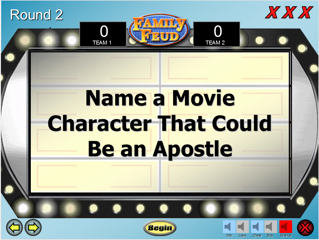 Family Feud Game Template Best Of Lds Family Feud Game Template Relief society