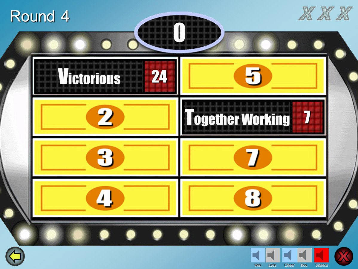 Family Feud Game Template Inspirational Family Feud Customizable Powerpoint Template Youth