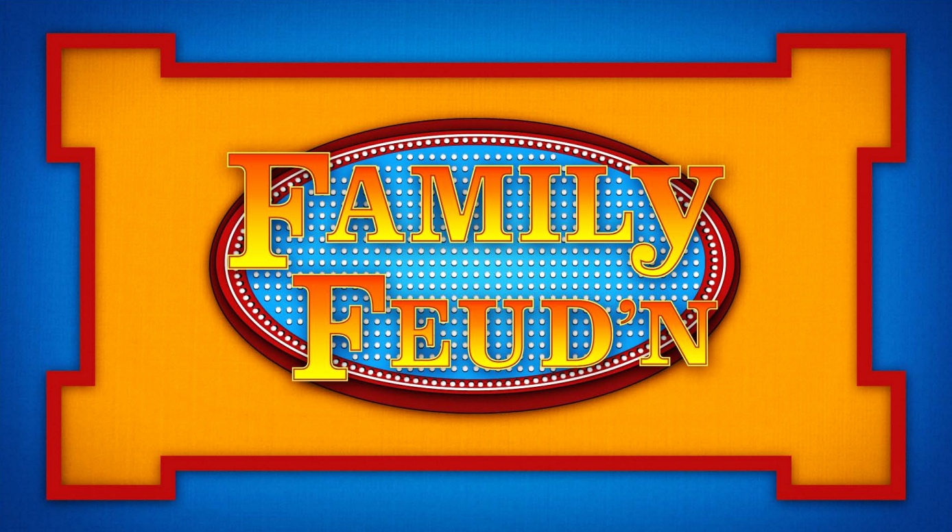 Family Feud Game Template Luxury 8 Best Of Family Feud Name Tag Template Family