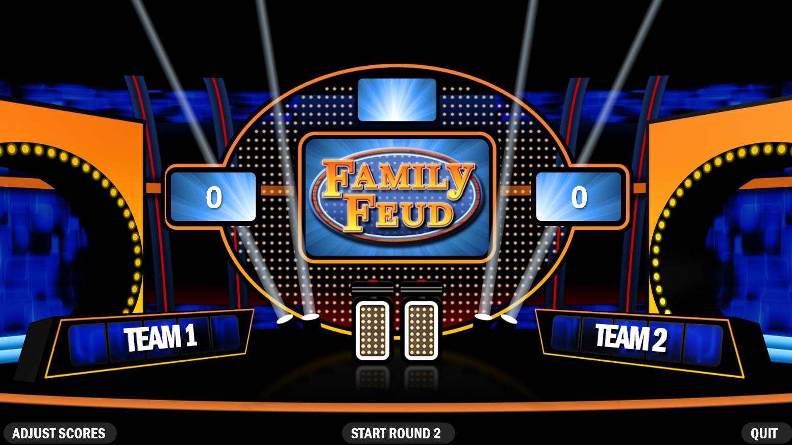 Family Feud Powerpoint Template Awesome Family Feudrpoint Template Download Fast Money Free