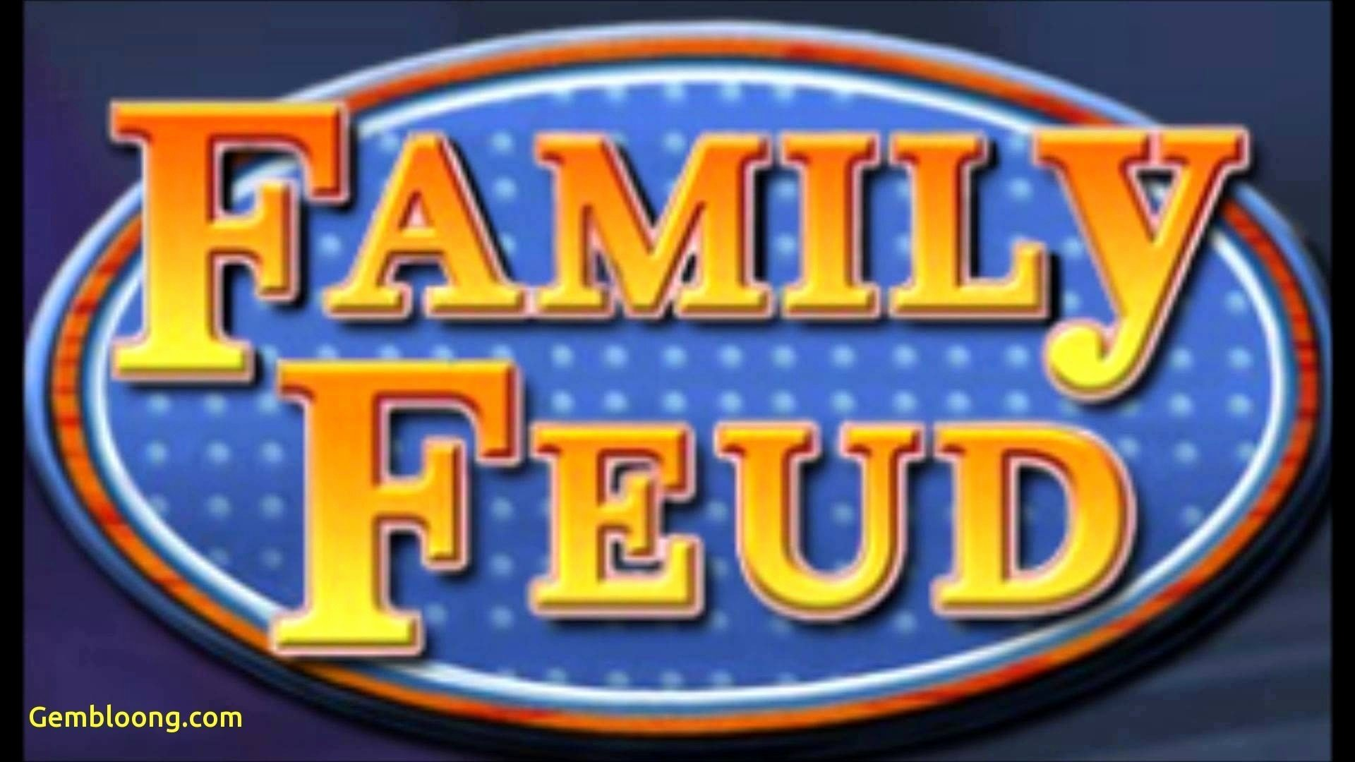 Family Feud Powerpoint Template Elegant Family Feud Game Template Free Lovely Powerpoint Design