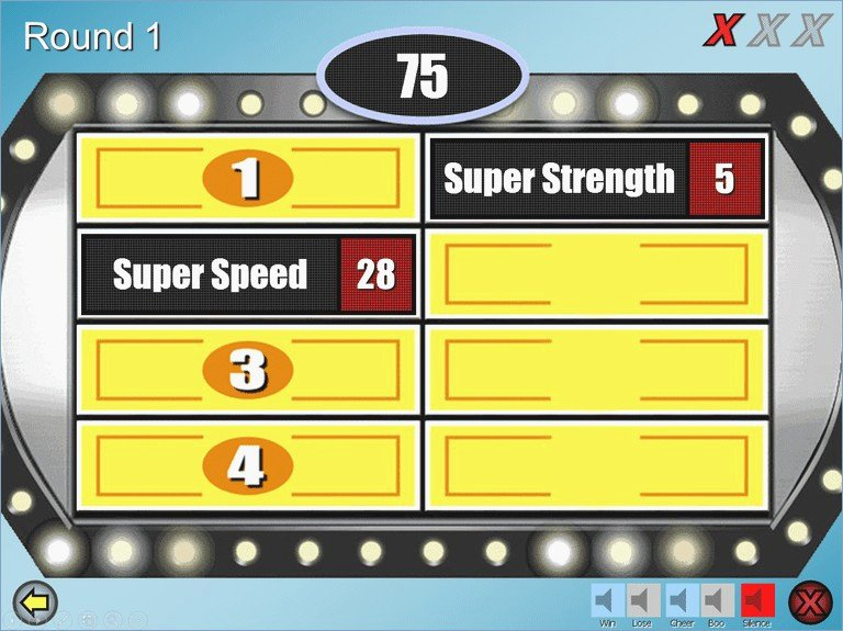 Family Feud Powerpoint Template Unique Family Feud Powerpoint Template Download