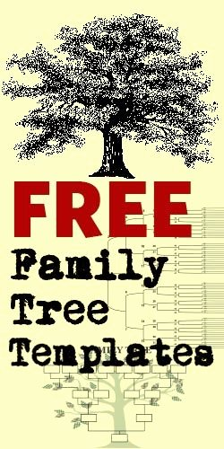 Family History Book Template Fresh Family Tree Templates On Pinterest