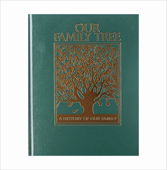 Family History Book Template Inspirational Family Tree Book Template – 11 Free Sample Example
