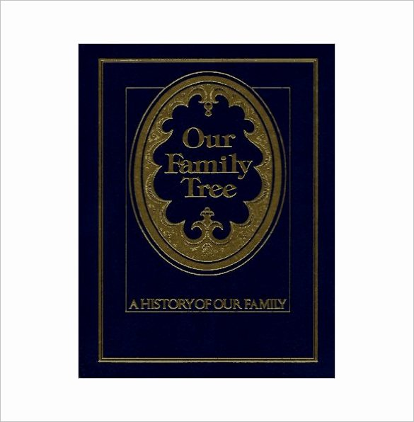 Family History Book Template Luxury Family Tree Book Template – 11 Free Sample Example