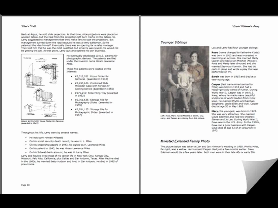 Family History Books Template Awesome Old Tell Our Family Story Sample for Your Family History