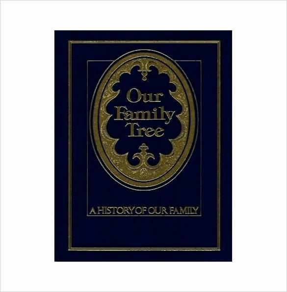Family History Books Template Elegant Sample Family History Book Template Our Family Tree Book