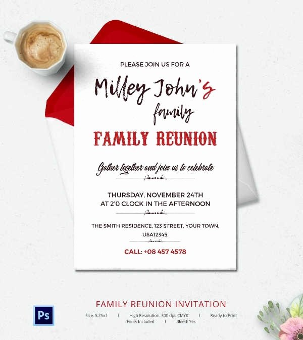 Family Reunion Flyer Template Beautiful Family Reunion Invitation Templates Beepmunk