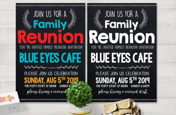 Family Reunion Flyer Template Elegant 49 Printable Invitation Flyer Designs & Templates Psd