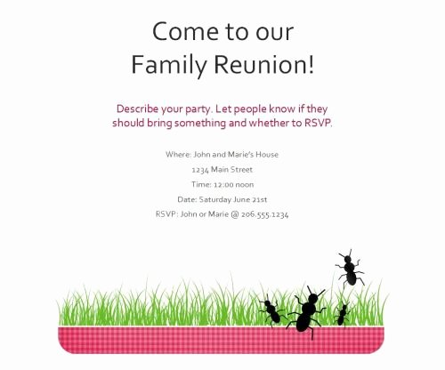 Family Reunion Flyer Template Elegant African American Family Reunion Agenda to Pin On