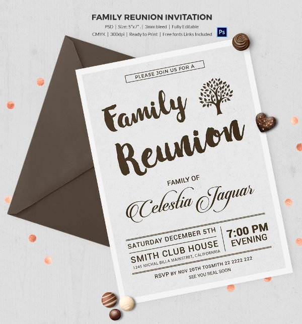 Family Reunion Flyer Template Lovely Family Reunion Essay Example
