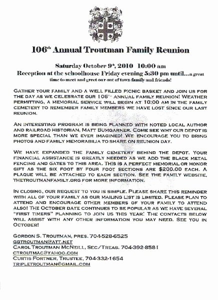 Family Reunion Letter Template Elegant 36 Best Images About Family Reunion Ideas On Pinterest