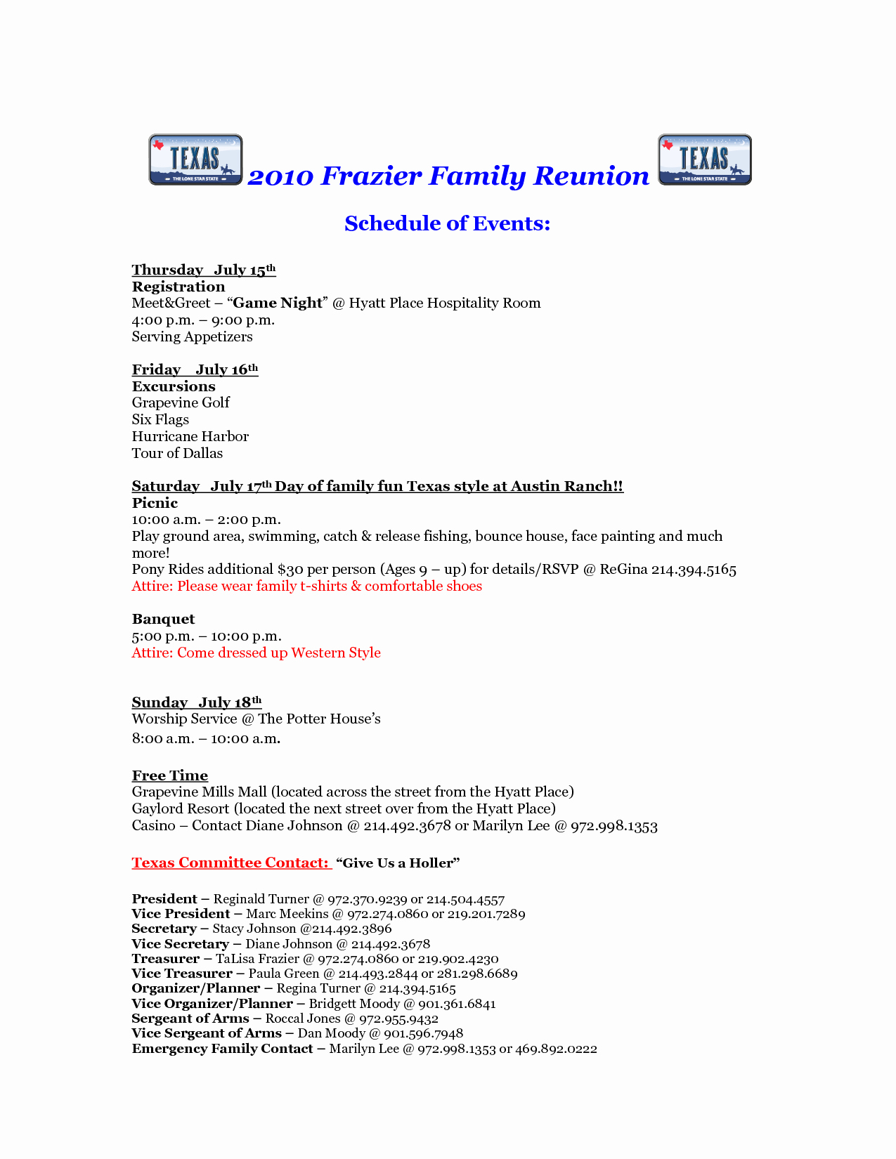 Family Reunion Letter Template Luxury Free Printable Family Reunion Letters