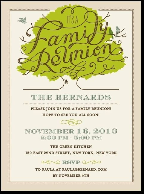 Family Reunion Letters Template Inspirational 25 Best Ideas About Family Reunion Invitations On