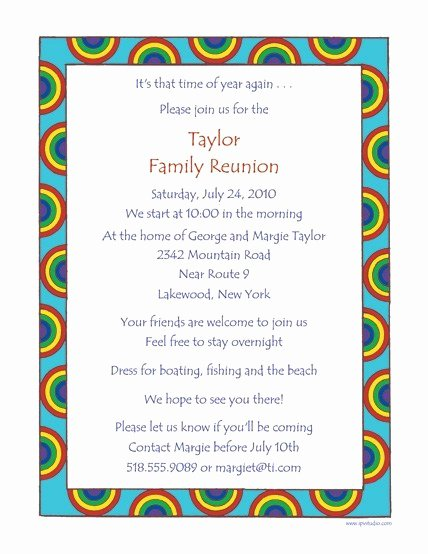Family Reunion Letters Template New Family Reunion Letters Template Free Download 20 High