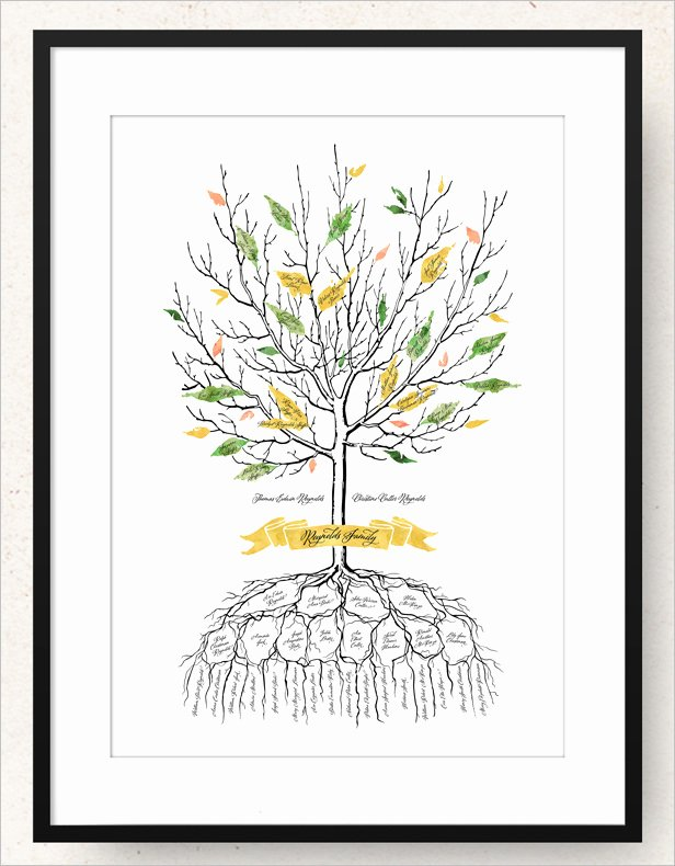 Family Tree Art Template Awesome 15 Amazing Family Tree Art Templates & Designs
