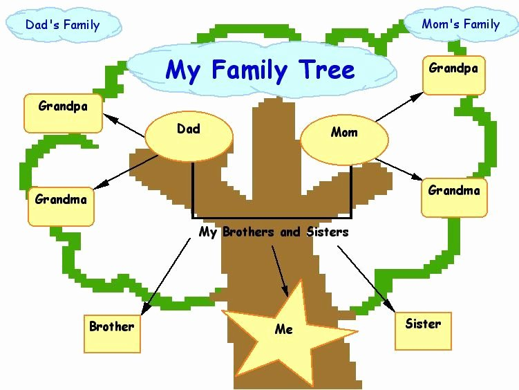 Family Tree Art Template Beautiful Family Tree On Pinterest