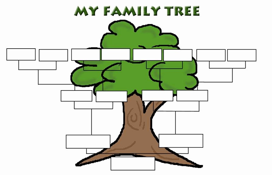 Family Tree Art Template Unique Family Tree Clip Art Templates