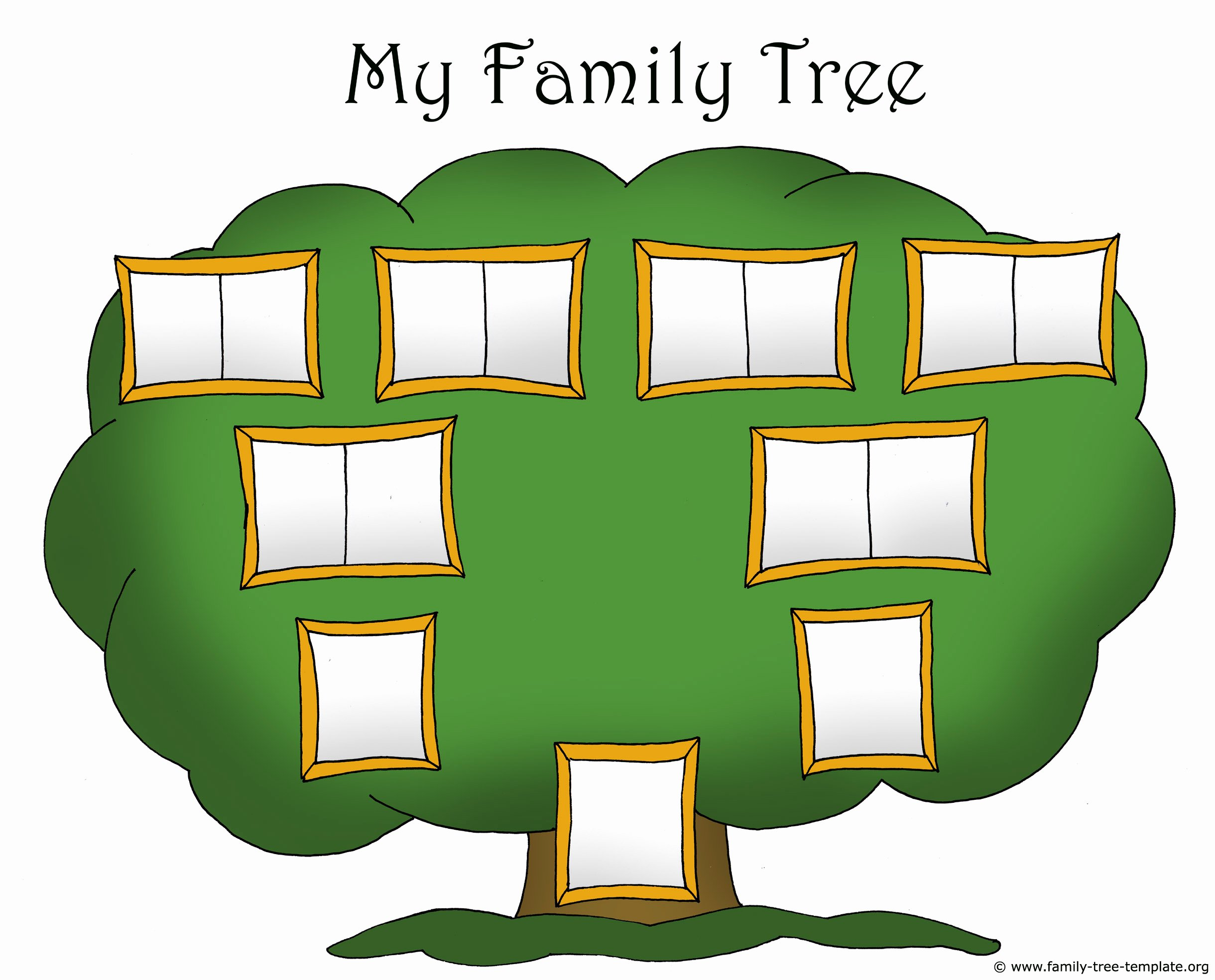 free family tree clipart child