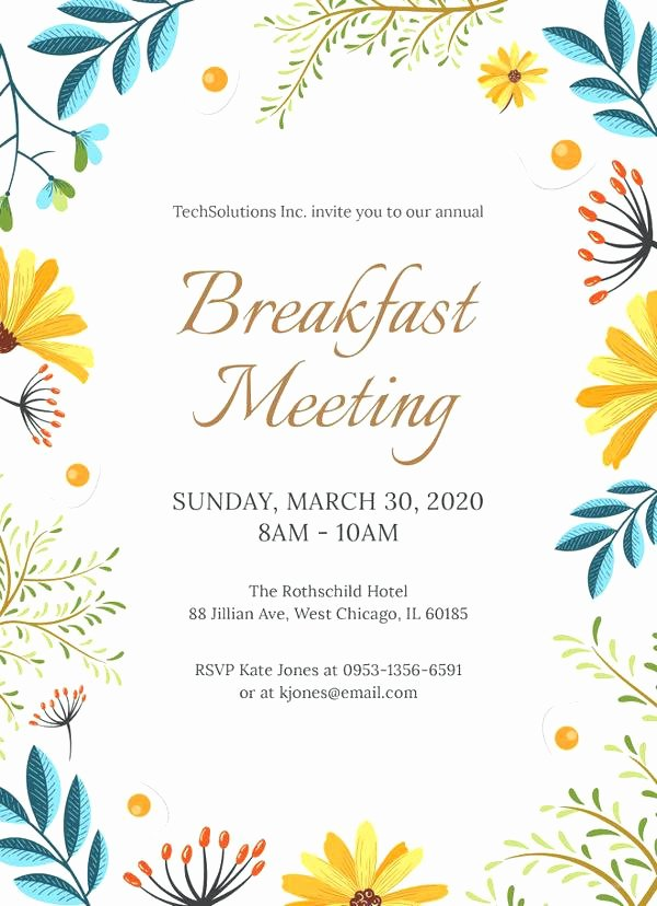 Farewell Invitation Template Free Best Of Farewell Breakfast Invitation – orgul Gbt