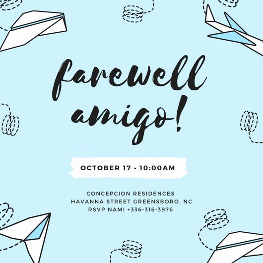 Farewell Invitation Template Free Inspirational Customize 3 999 Farewell Party Invitation Templates