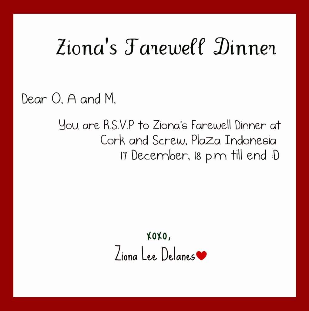 Farewell Invitation Template Free Lovely Farewell Dinner Invitation