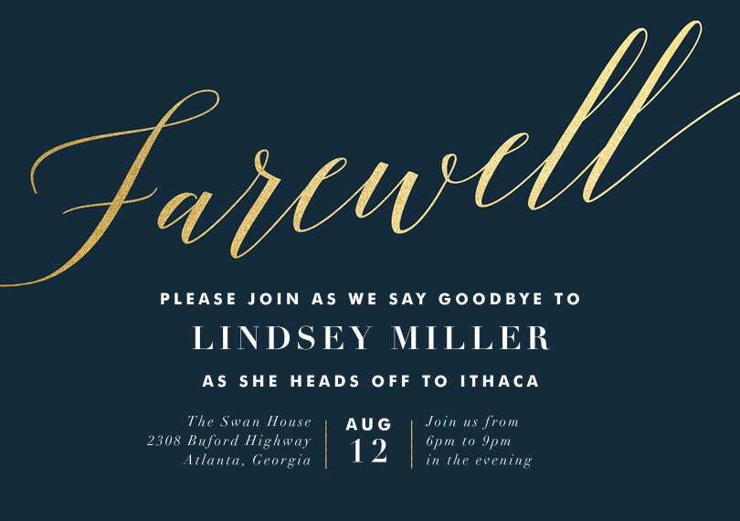 Farewell Invitation Template Free Lovely Farewell Invitation Template Farewell Party Invitations
