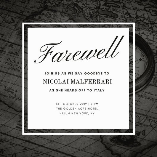 Farewell Invitation Template Free Unique Customize 3 999 Farewell Party Invitation Templates