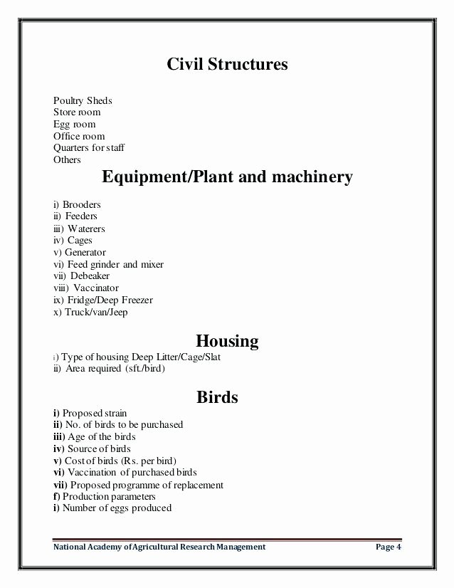 Farm Business Plan Template Awesome Pdf Poultry Farming Business Plan – Blogopoly