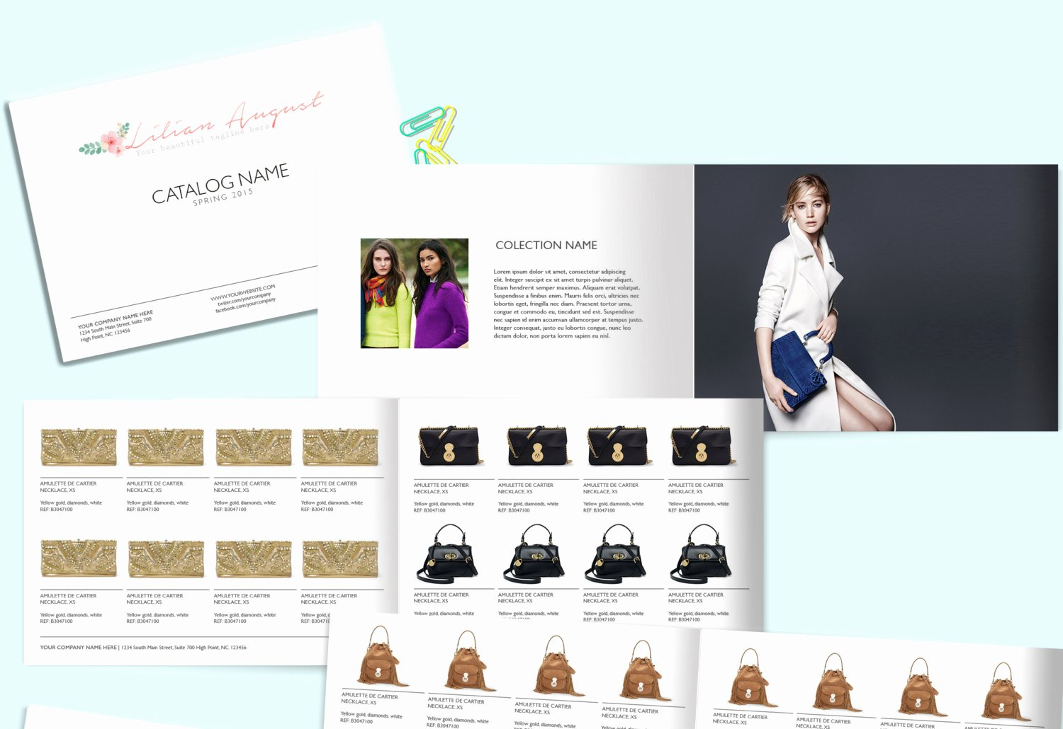 Fashion Line Sheet Template Awesome wholesale Catalog Template Product Catalog Indesign