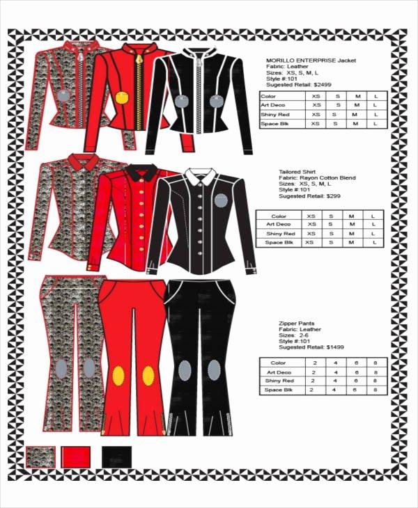 Fashion Line Sheet Template Beautiful 8 Line Sheet Templates – Free Sample Example format