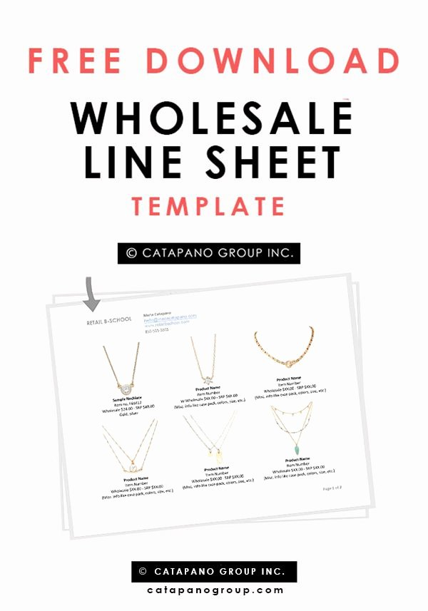 Fashion Line Sheet Template Lovely 1000 Images About Templates On Pinterest
