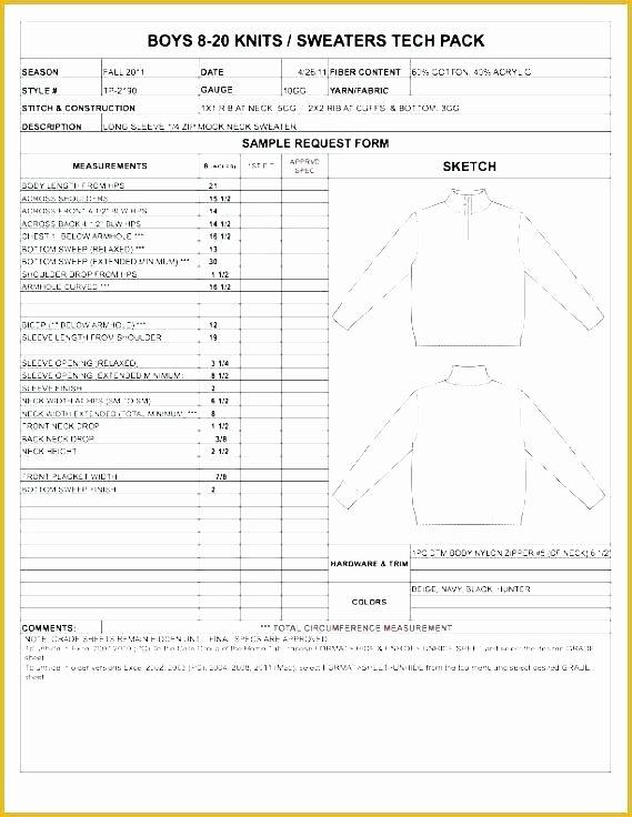 Fashion Line Sheet Template Unique Clothing Line Sheet Template Fashion Line Sheet Template