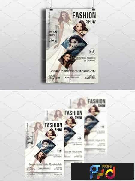 Fashion Show Flyer Template Best Of Freepsdvn Template Fashion Show Flyer Template