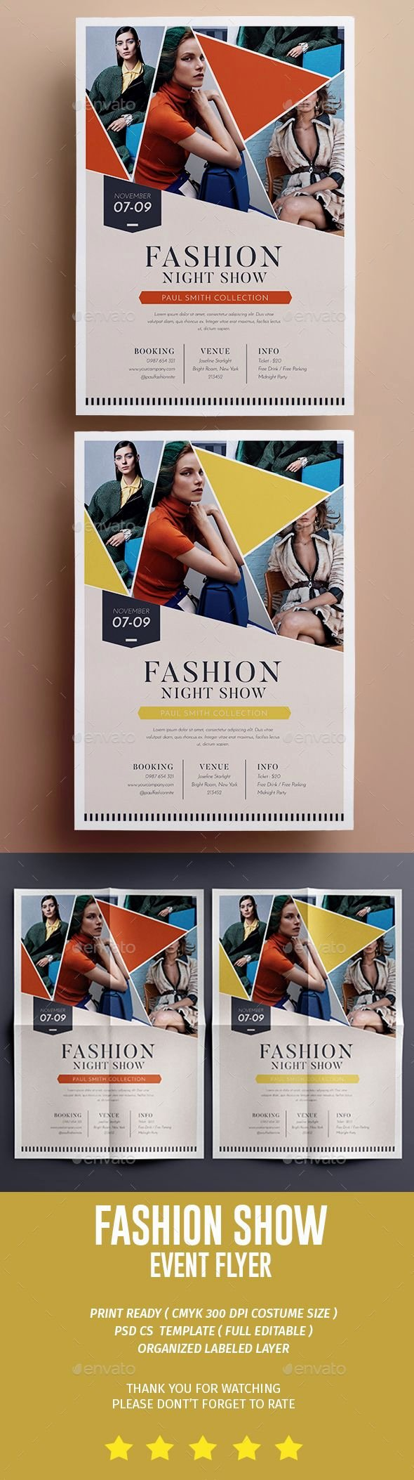 Fashion Show Flyer Template Fresh Best 25 event Flyers Ideas On Pinterest