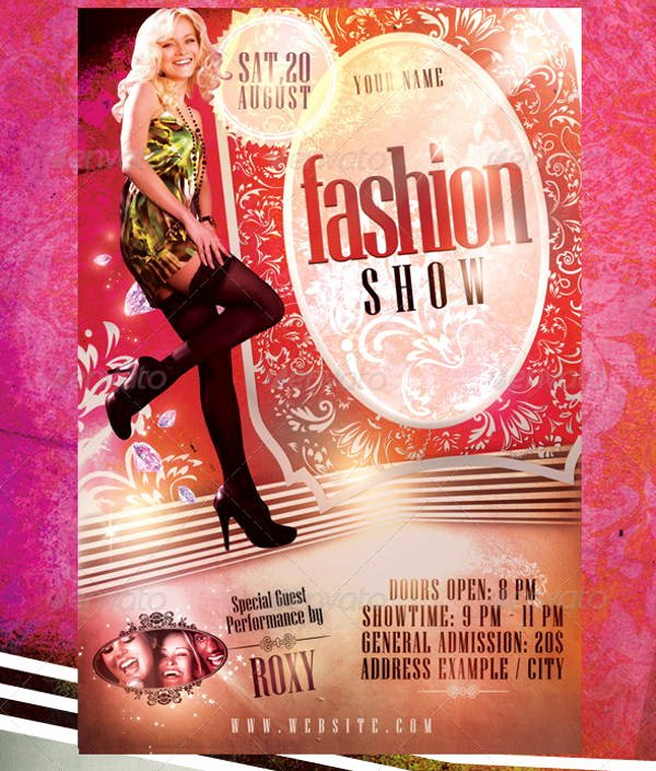 Fashion Show Flyer Template Inspirational 16 Fashion Show Flyer Templates In Word Psd Ai Eps