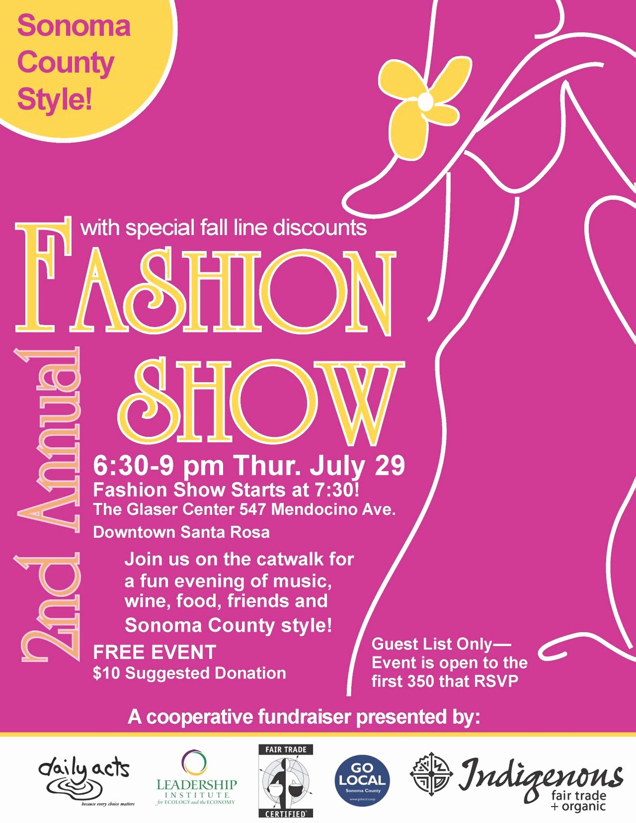 Fashion Show Flyer Template Inspirational Fashion Show Flyers Samples Related Keywords Fashion