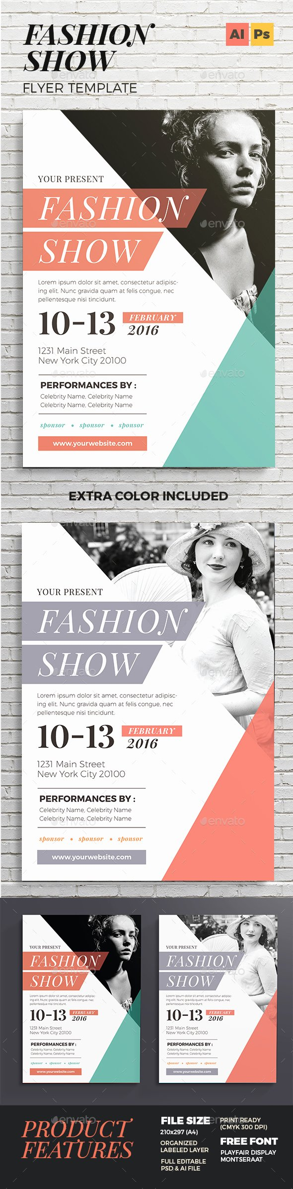 Fashion Show Flyer Template Unique Fashion Show Flyer by Vynetta
