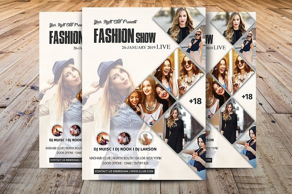 Fashion Show Flyers Template Awesome Elementary Talent Show Flyer Template Polarview