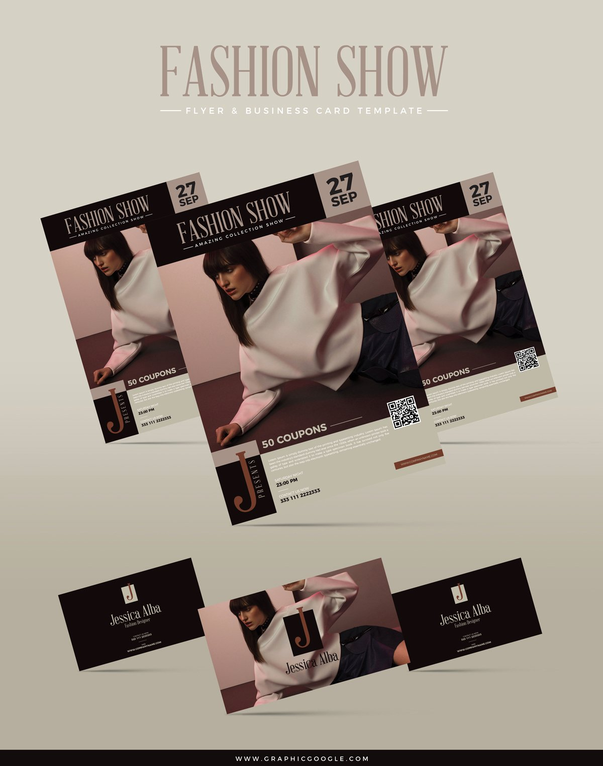 Fashion Show Flyers Template Best Of Free Fashion Show Flyer & Business Card Templategraphic